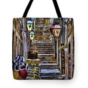 Street Lane In Dubrovnik Croatia Tote Bag