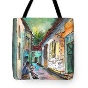 Street Life In Nicosia Tote Bag