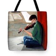 Street Musician 3 Tote Bag