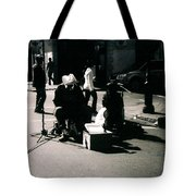 Street Musicians- Grandpa Elliot Tote Bag