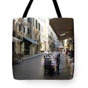 Street Restaurant Tote Bag