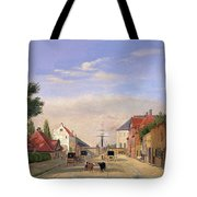 Street Scene Tote Bag by Danish School