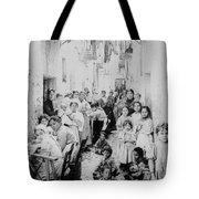 Street Scene In Athens Greece - C 1919 Tote Bag