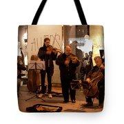 Street String Quartet Tote Bag