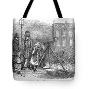 Street Telescope Tote Bag