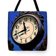 Street Time Tote Bag