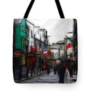 Streetlife Tote Bag