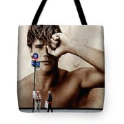 Streets Of New York 10 Tote Bag
