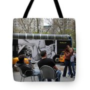 Streets Of New York 5 Tote Bag