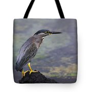 Striated Heron Tote Bag