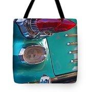 Striking Tail Lights Tote Bag