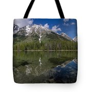 String Lake Panorama Tote Bag