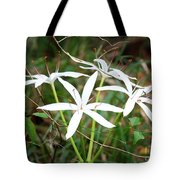 String Lily Tote Bag