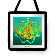 String Theory D Tote Bag