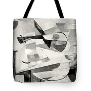 Stringed Instrument On Table Tote Bag