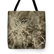 Stringy Lichen Tote Bag