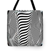 Striped Water 2 Tote Bag