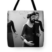 Stripped Saints Tote Bag