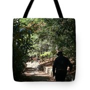 Stroll In The Shadows Tote Bag