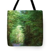 Stroll Through The Quinault Rain Forest Tote Bag