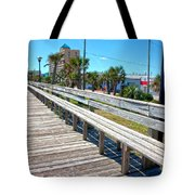 Strolling Along Tote Bag by Betsy Knapp