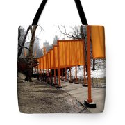 Strolling Through Central Park Tote Bag