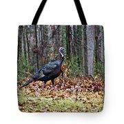 Strutting Turkey Tote Bag