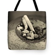 Stubbed Out. Tote Bag