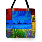 Painting Collage  II Tote Bag