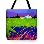 Study For Provence Painting Tote Bag