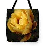 Study In Yellow Tote Bag