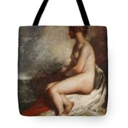 Study Of A Seated Nude Tote Bag