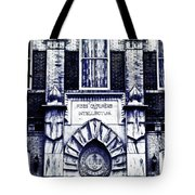 Study Of One Of The Oldest Catholic Churches In New Orleans Tote Bag