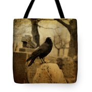 Study Of The Surly Raven Tote Bag