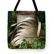 Stump And Fronds Tote Bag