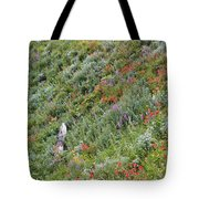 Subalpine Wildflowers Tote Bag