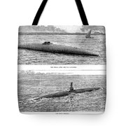 Submarine Launch, 1890 Tote Bag