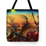 Submit As The World Burns Tote Bag