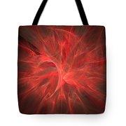 Subtle Aura-fractal Art Tote Bag