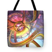 Subtlety Abstract Tote Bag