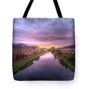 Suburban Sunrise 1.0 Tote Bag