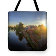 Suburban Sunrise 6.0 Tote Bag