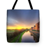 Suburban Sunrise 8.0 Tote Bag