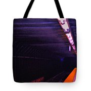 Subway Silence Tote Bag by Gwyn Newcombe