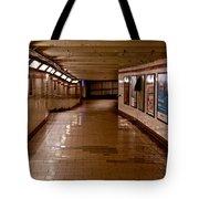 Subway Tunnel Tote Bag