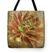 Suculant Blank Greeting Card Tote Bag