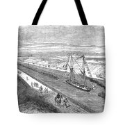 Suez Canal, 1868 Tote Bag