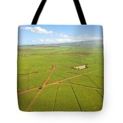 Sugar Cane Fields Tote Bag