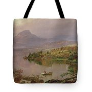 Sugarloaf From Wickham Lake Tote Bag by Jasper Francis Cropsey
