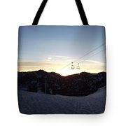 Sugarloaf Sunrise Tote Bag